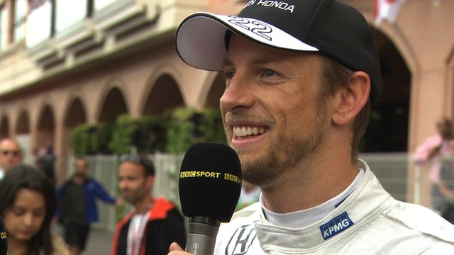 Jenson Button Fan Site