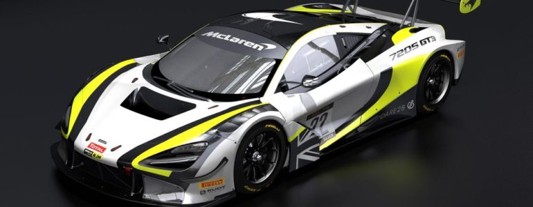 Jenson Button's GT Team Will Run A 720S GT3 With A Brawn-Style Livery This Year